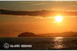 夕日のエンルム岬