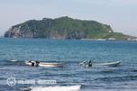 昆布漁とエンルム岬