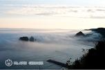 海霧に浮かぶ